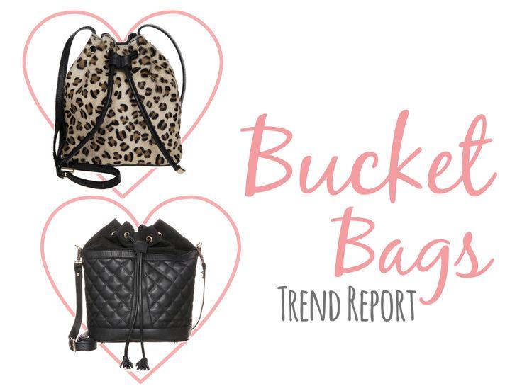 Bucket Bags Trend Report / Beuteltaschen