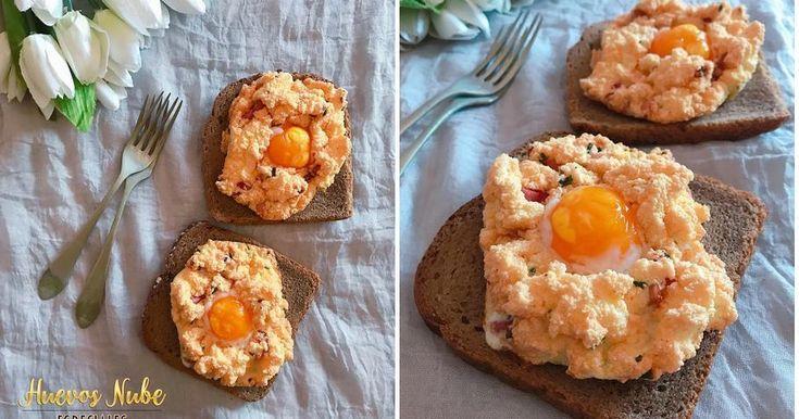 Huevos-nube especiales...¡la moda más rica!