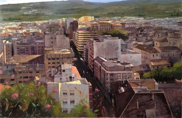 Urban Landscape Paintings By Cristobal Perez García