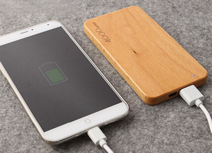 wooden power bank 4000mah Charging treasure suitable for iPhone ipad Android mobile charge phoneportable charger for mobile //Price: $US $20.00 & FREE Shipping //     #samsung