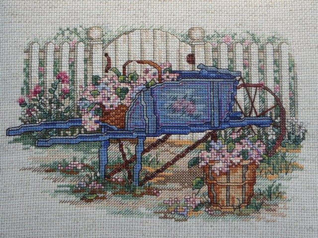"""Hydrangea Harvest"" ~ Bouquets & Blossoms (Book 63) by Paula Vaughan"