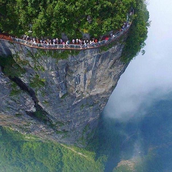 Тяньмэнь Гора в Китае