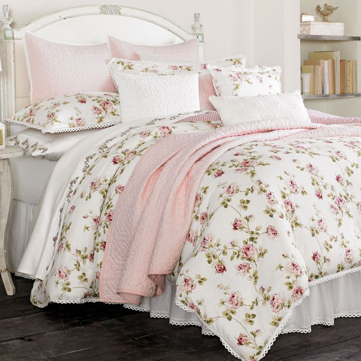 Rosalie Floral Comforter Bedding by Piper & Wright