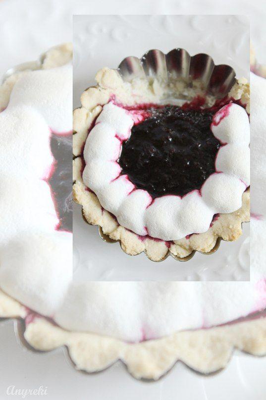 Foodclub — кулинарные рецепты с пошаговыми фотографиями - Фиолетовые тарталетки