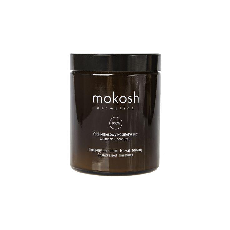"""100% Olej kokosowy bio tłoczony metodą """"na zimno"""" jest niezwykle cennym kosmetykiem do pielęgnacji twarzy, ciała, włosów, dłoni i paznokci oraz skóry skłonnej do podrażnień."""