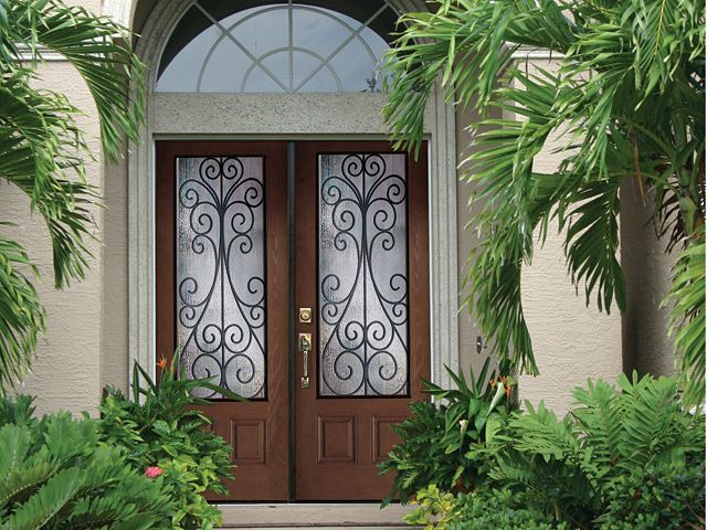 Camelia Decorative Glass Collection Featuring Plastpro And Jeld Wen Entry  Doors