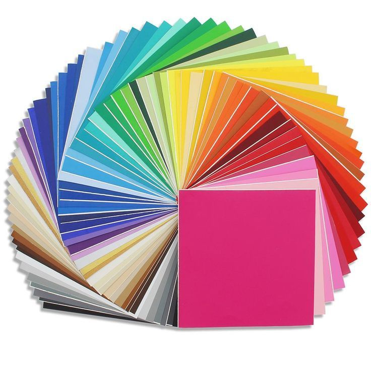 Oracal 631 Matte Vinyl Bundle 12 X 12 68 All Colors Vinyl Printer Paper Oracal Swing Design