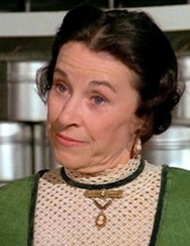 Eunice Ortolon (Katherine MacGregor ) Mrs. Olsen Little House