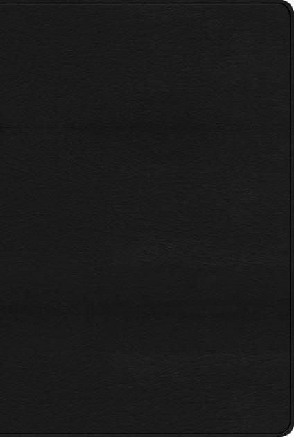 Biblia de Estudio Arco Iris RVR 1960, Piel Imit. Negra (RVR 1960 Rainbow Study Bible, Black Imitation Leather)