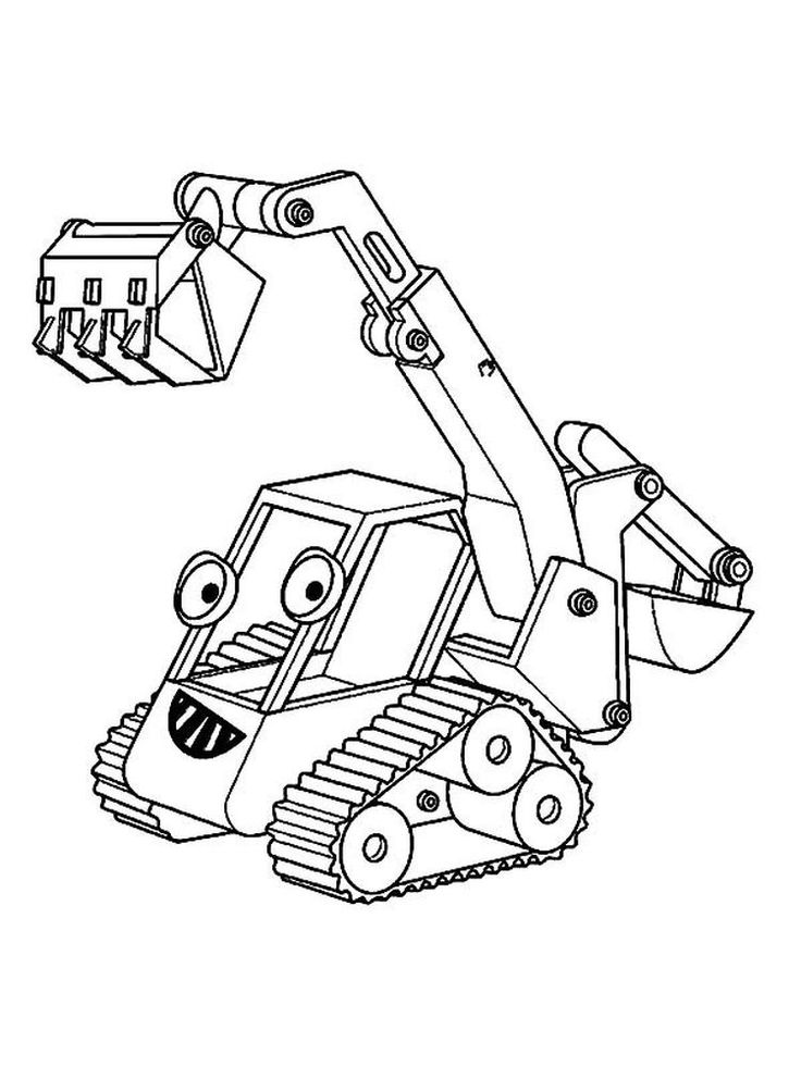 Excavator Coloring Pages Pdf Excavators Are Heavy Equipment Consisting Of Arms Booms And Buckets Truck Coloring Pages Coloring Pages To Print Coloring Pages