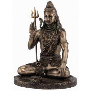 Indischer Gott Shiva mit Dreizack