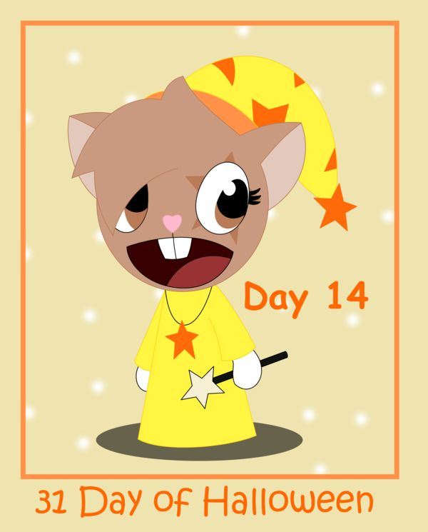 31 Days of Halloween - Day 14 by AnimalComic96 on deviantART