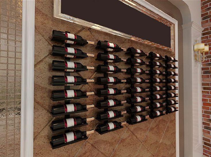 Barato Vinho rack de ferro vinho vinho de exibição de armazenamento vitrine do hotel bar na parede pendurado rack de armazenamento criativo, Compro Qualidade Cabine de sala diretamente de fornecedores da China:                           (O menor preço, a qualidade mais difícil, o melhor serviço fins)