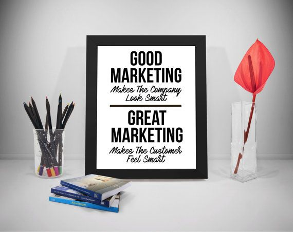Great Marketing Quotes Printable Sales Motivation Quote
