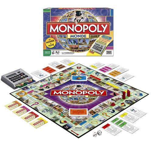 Monopoly Monde [Here and Now : The World Edition French Edition]