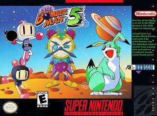 Emularoms: Super Bomberman 5 [ SNES ]