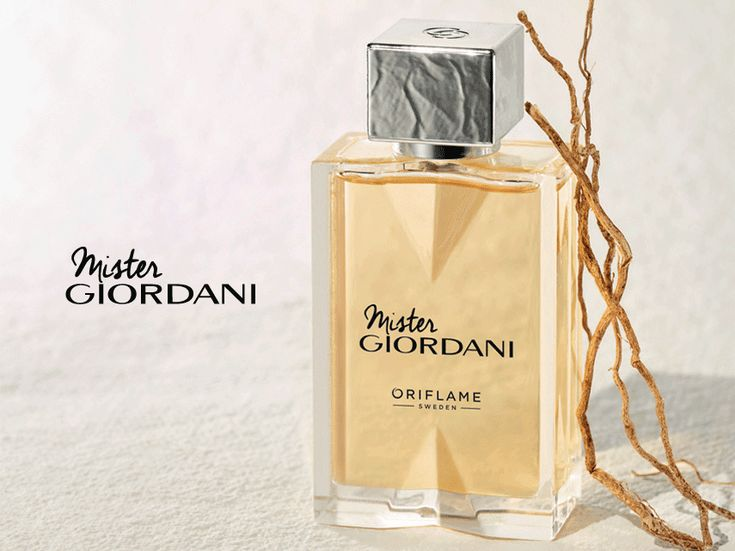 oriflame.com Being the third largest producer of fragrances in the world, Oriflame knows that there is nothing like a fantastic aroma to express your own masculine style. Mister Giordani evokes the spontaneity present in the unexp...