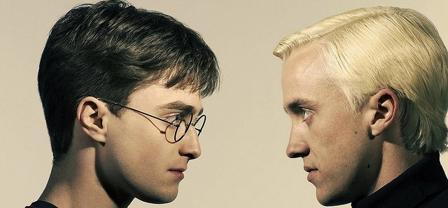 Harry Potter: Kiss, Movie Marathons, Blondes, Potter Obsession, Scared Potter, Harry Potter, Faceoff, Photo Shoots, Draco Malfoy