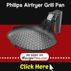 Marketplace | Philips Airfryer Accessories – Philips Airfryer grill pan from RecipeThis.com