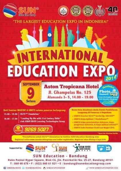 International Education Expo Bandung September 2014