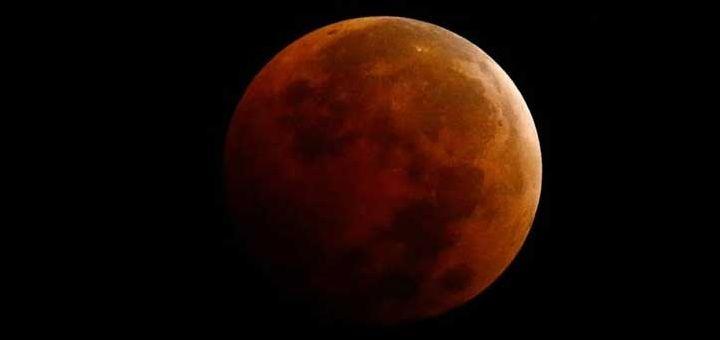 Totale maansverduistering eind september