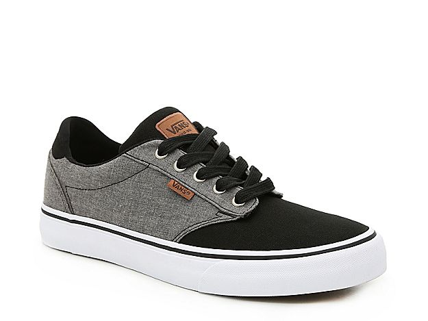 Vans Mens Atwood Sneaker Grey