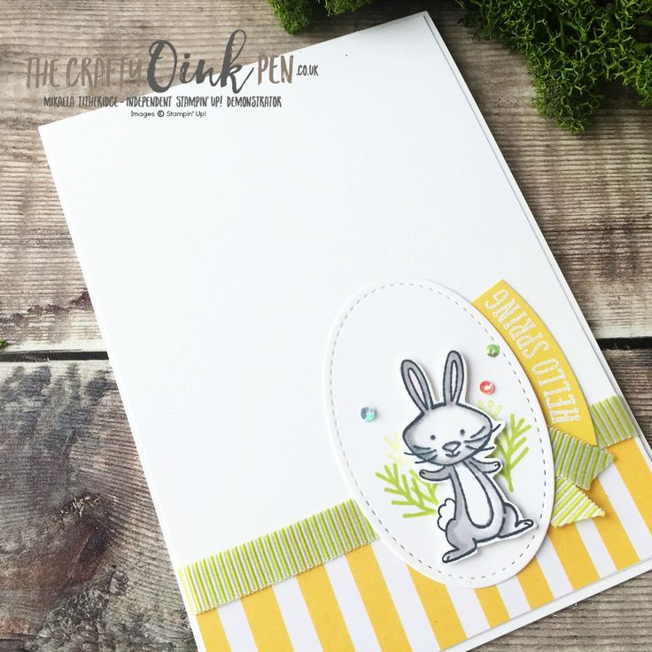 We Must Celebrate with Hello Easter for the Stampin' Creative Blog Hop From the Gardenby Mikaela Titheridge, #6UK Independent Stampin' Up! Demonstrator, The Crafty oINK Pen. Supplies available through my online store 24/7