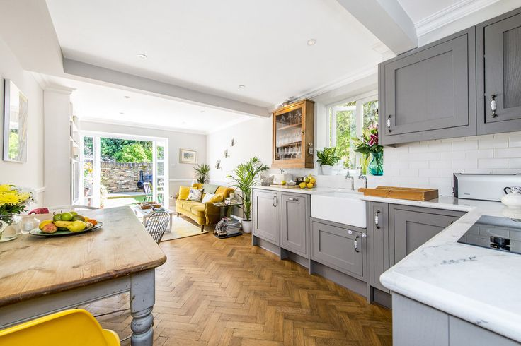Kitchen - A Bright And Bold Renovation Turning A One Bed Into A Two Bed London Flat