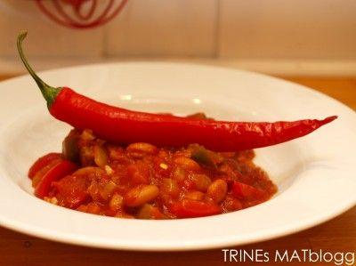 Chili con carne | TRINEs MATblogg