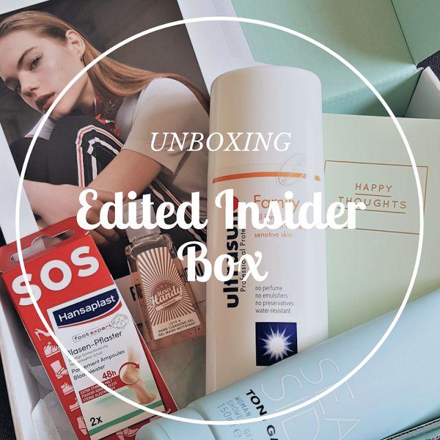 UNBOXING : Edited Insider Box