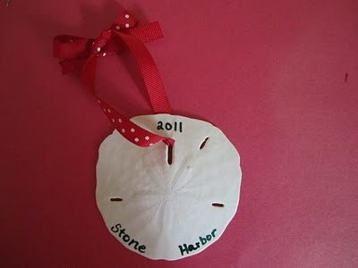 OOB sand dollar ornament Christmas Tree Ornament