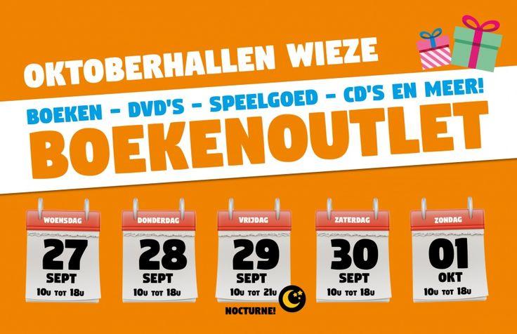 BOEKENOUTLET OKTOBERHALLEN -- Wieze -- 27/09-01/10