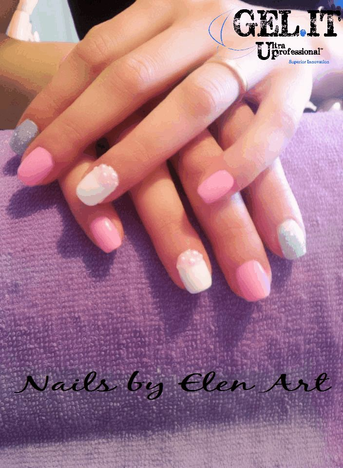 Nails by our fans with GEL.IT.UP UV LED Soak off Gel Polish