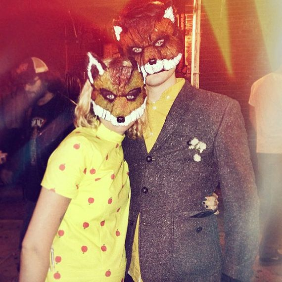 Fantastic Mr. Fox Fantastic Mrs. Fox Mr. and Mrs. by MissMaryMask