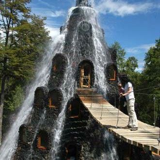 'Montana Magica Lodge in Huilo-Huilo, Chile