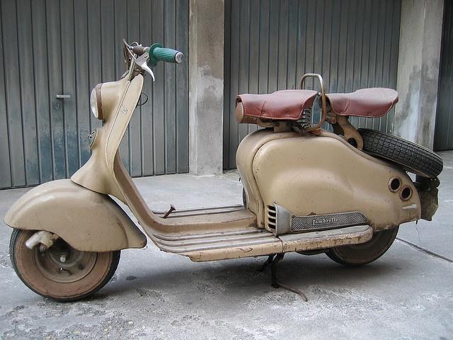 lambretta LD scooter