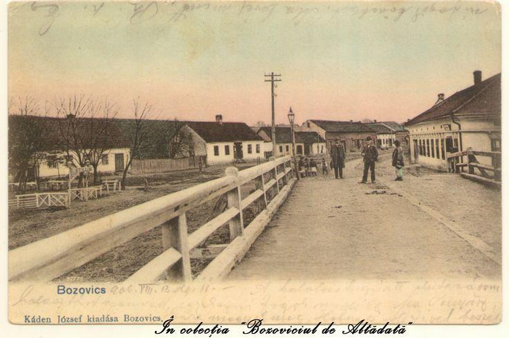 """Una dintre cele mai frumoase ilustrate din colectia """"Bozoviciul de Altadata"""", circulata in anul 1906 la Orsova. #descoperabozovici (Bozovici. old postcards. vintage postcards)"""
