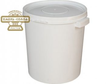 Бак из пищевого пластика для брожения пива. Вместимость 32 литра.