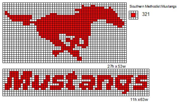 Southern Methodist Mustangs by cdbvulpix.deviantart.com on @deviantART