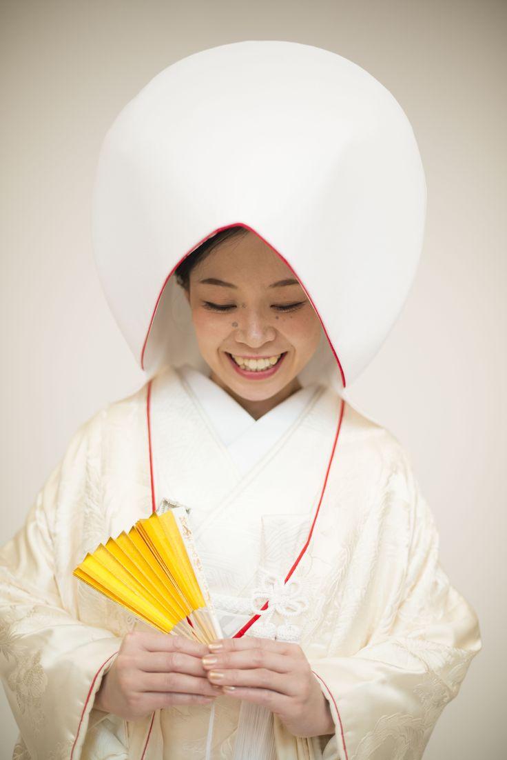 白無垢綿帽子花嫁