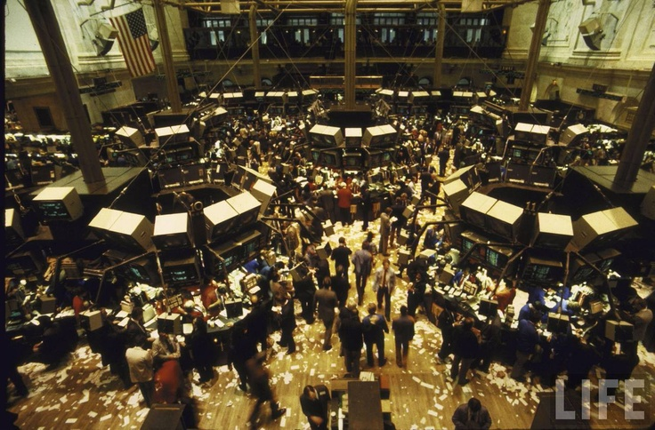 20 Best Images About Trading Floors On Pinterest Wall