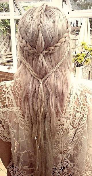 Lacey Braid Hairstyle