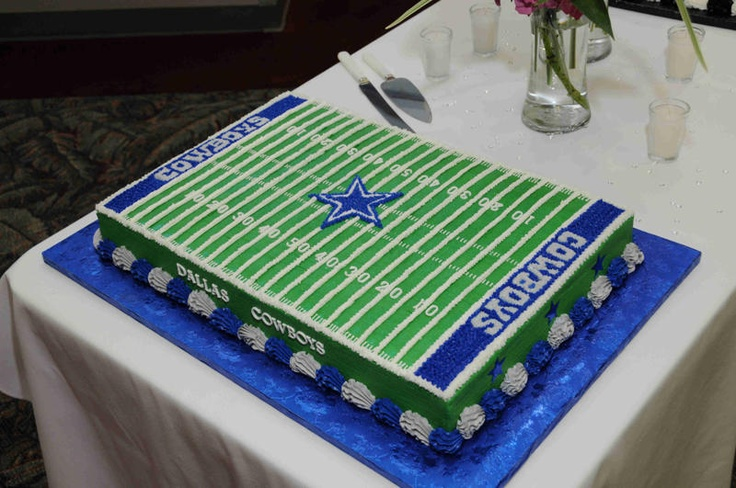 1000 Ideas About Dallas Cowboys Cake On Pinterest