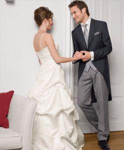 Morning coat for the groom