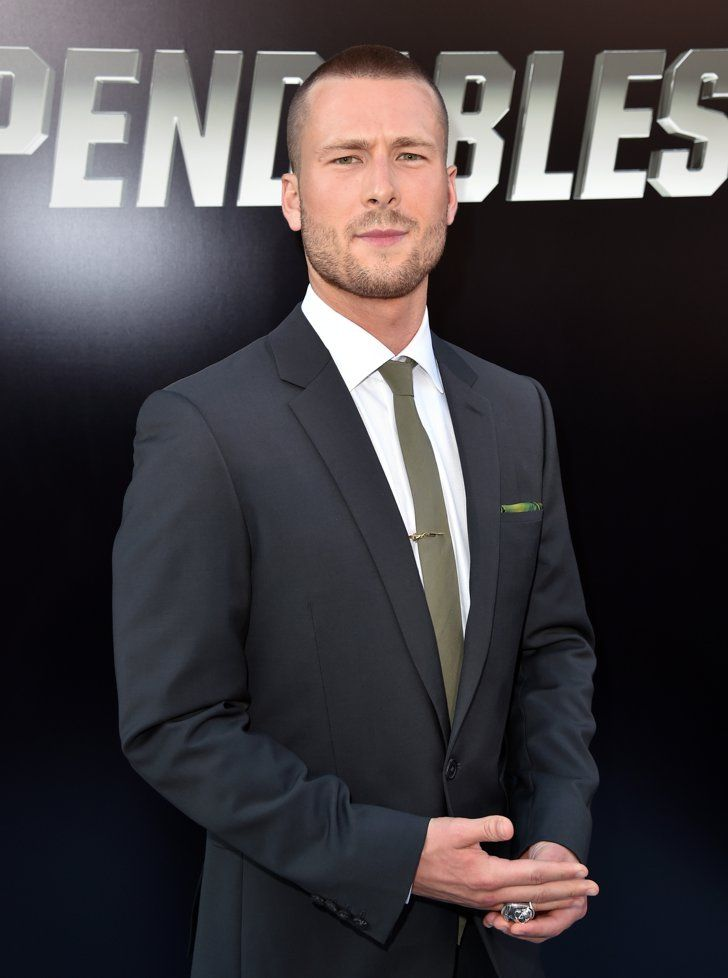Pin for Later: 13 Reasons You Should Start Crushing on Scream Queens Star Glen Powell His sultry stare is completely on point.