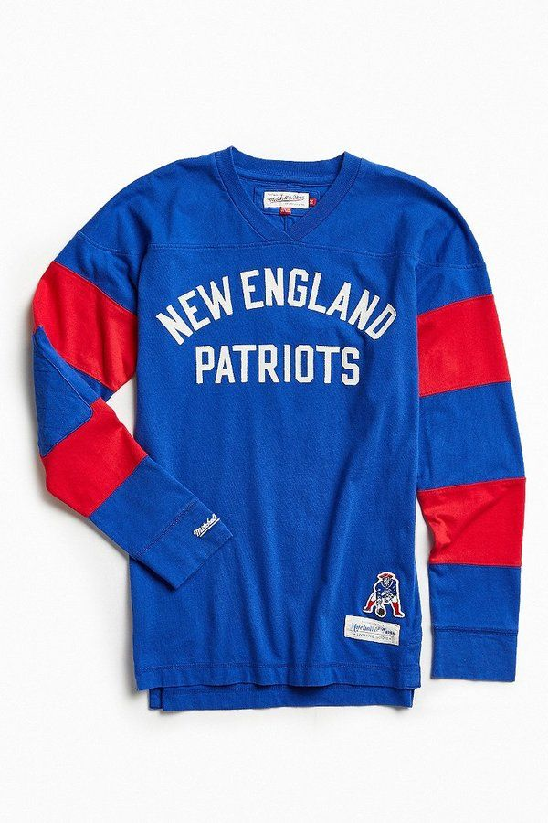 Mitchell & Ness Mitchell & Ness NFL New England Patriots Field Goal… Nfl  Nouvelle-angleterre PatriotesT-shirts À Manches LonguesSweat ...