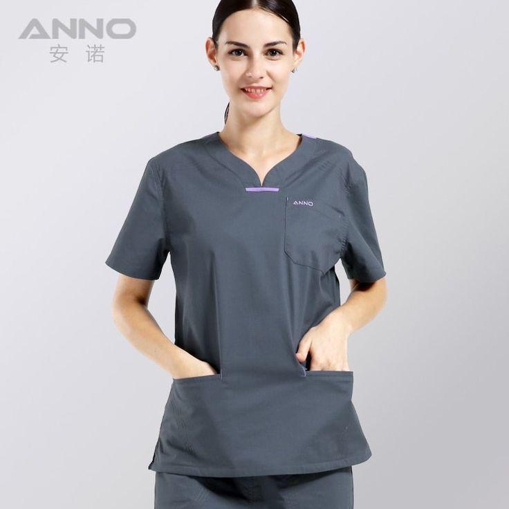 ANNO Summer Women Medical Clothing Hospital Scrubs Nurse