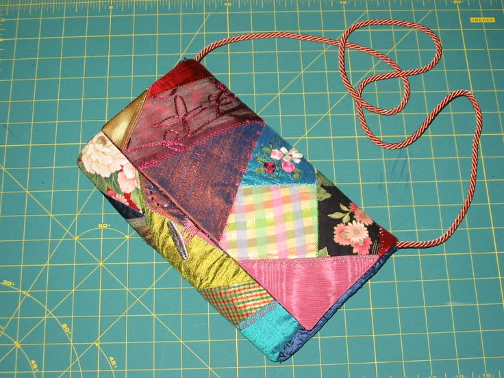Crazy bag #crazyquiltingbag