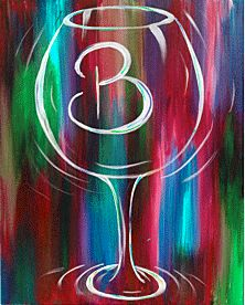1000 Ideas About Wine Painting On Pinterest Canvas