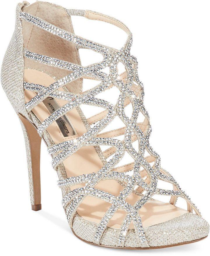 INC International Concepts Women's Sharee2 High Heel Evening Sandals